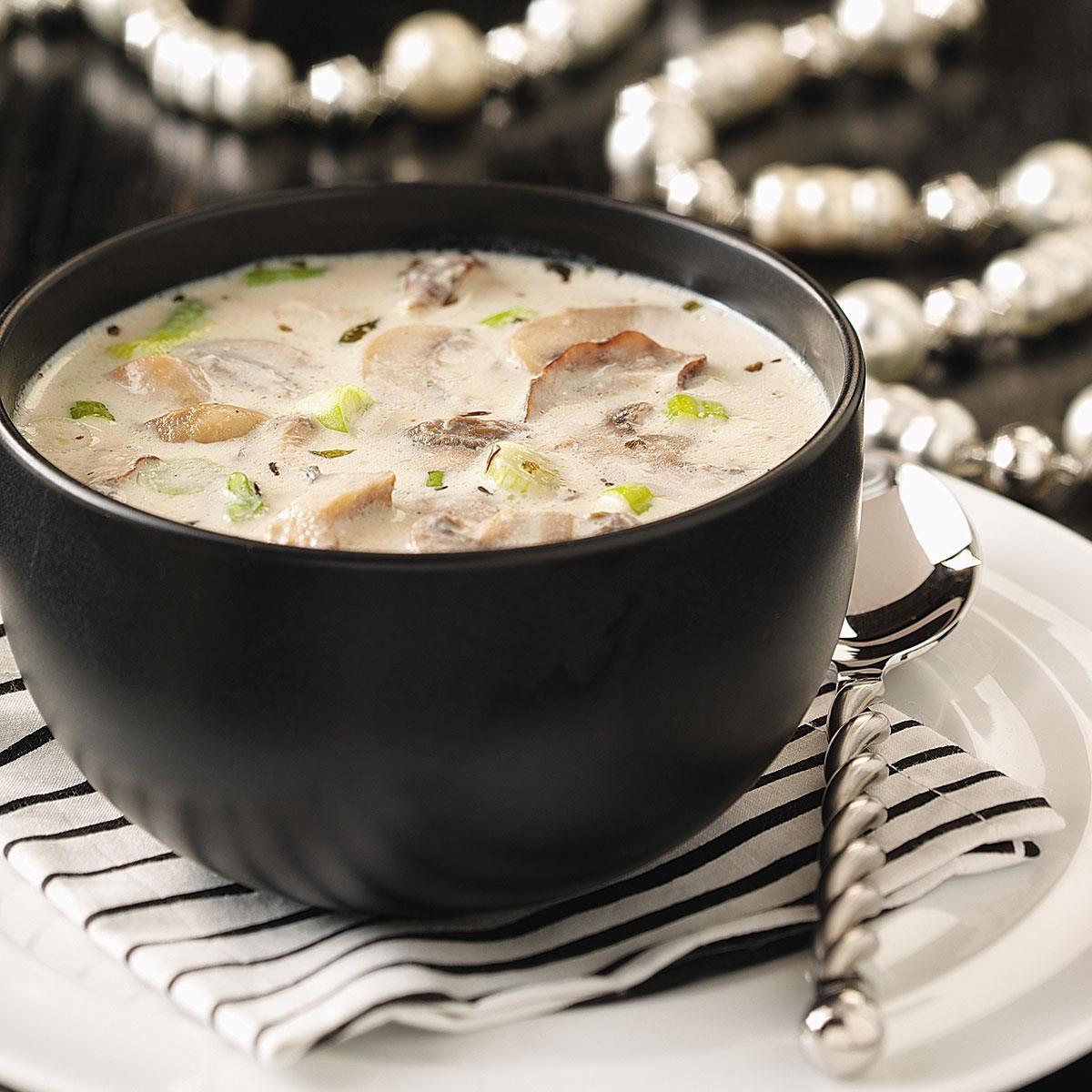 Creamy Garlic Mushrooms: Creamy Garlic & Mushroom Soup Recipe