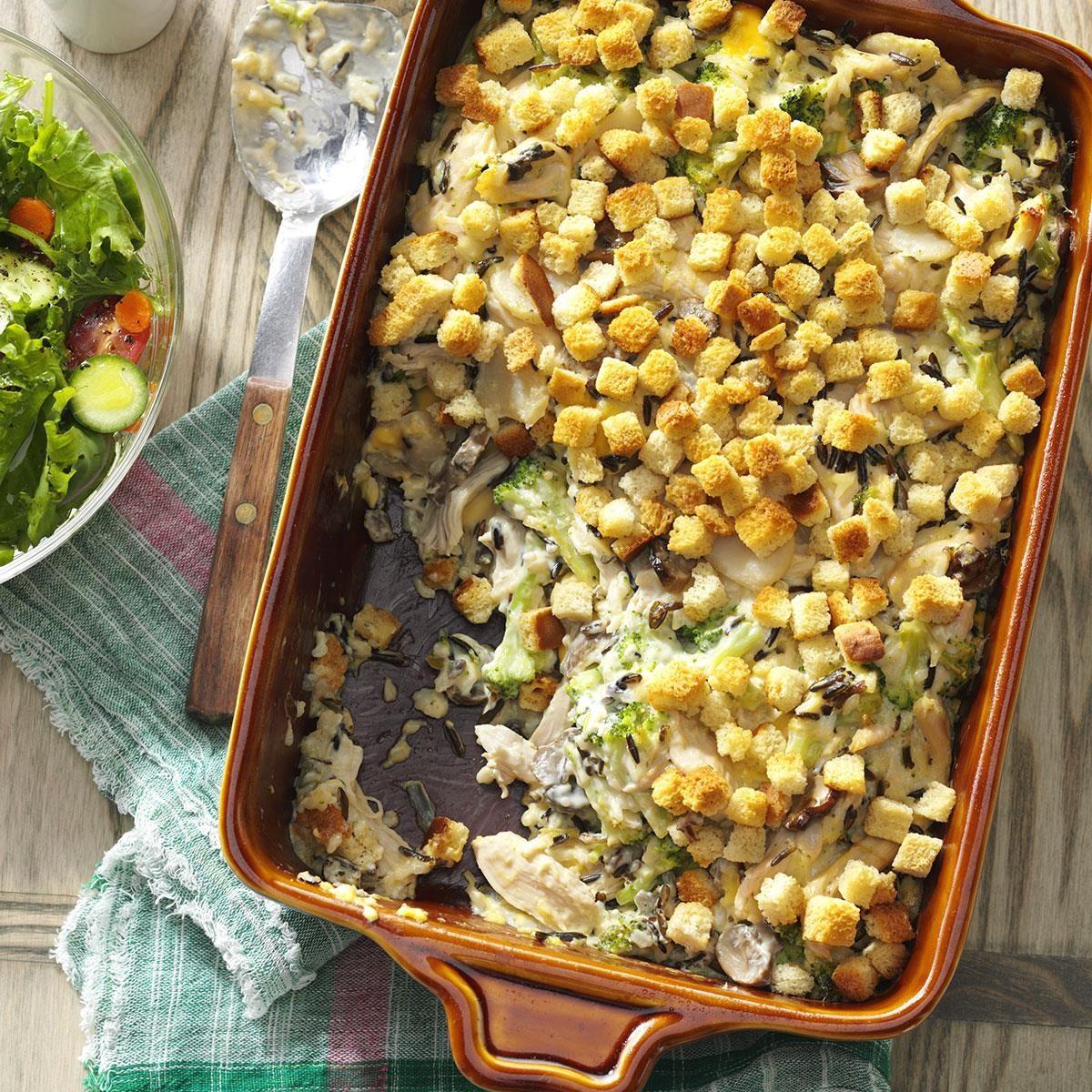 Creamy Turkey Casserole Recipe