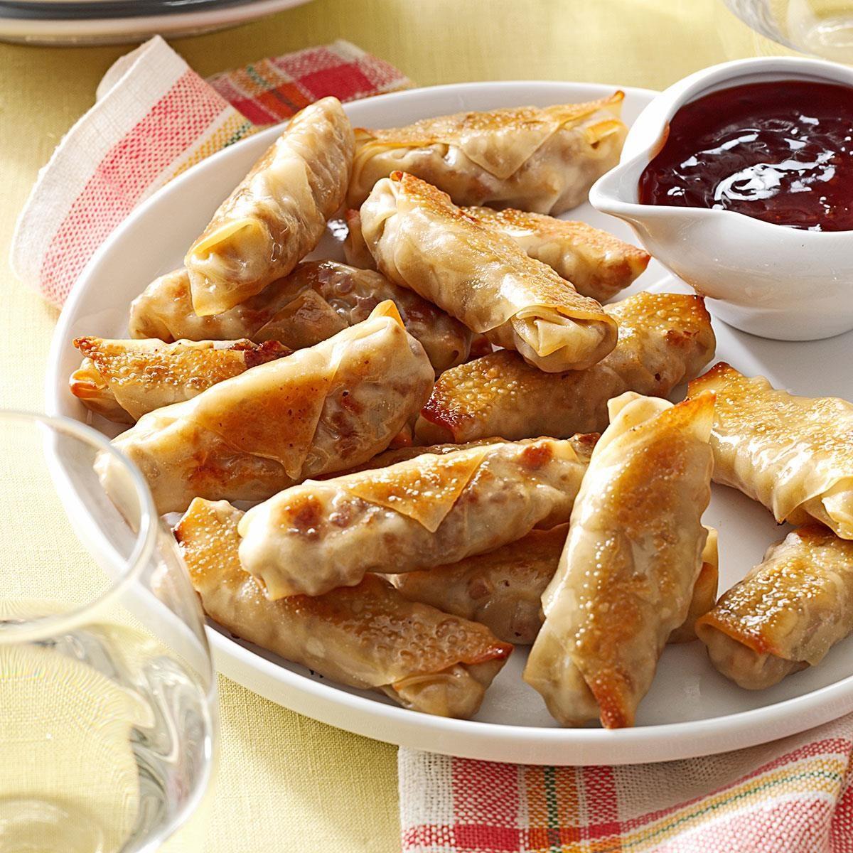 Crispy Baked Wontons Recipe | Taste of Home