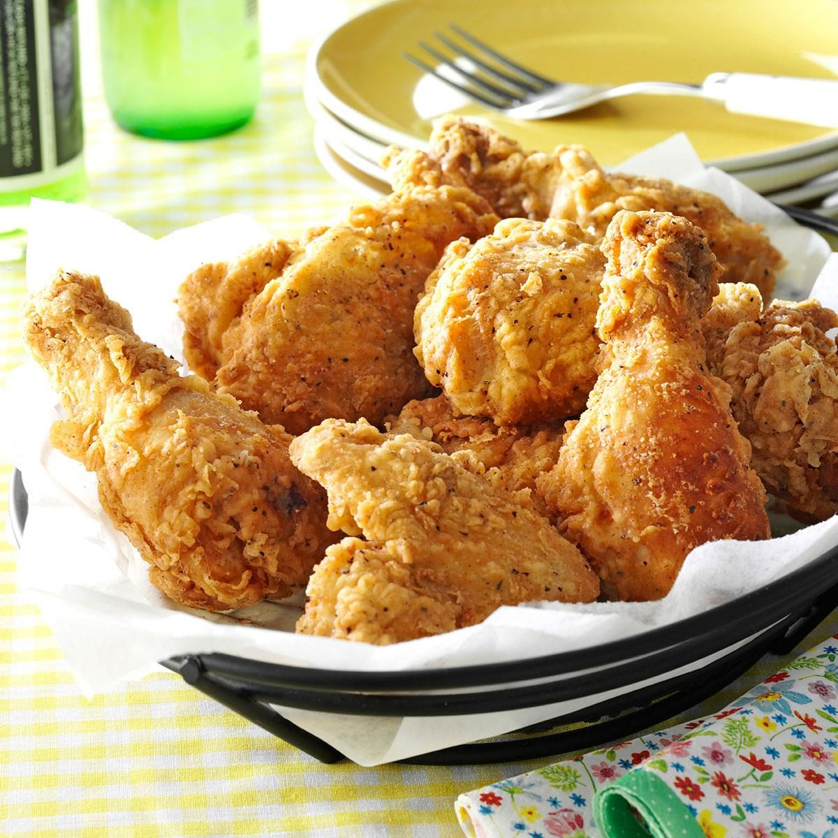 Crispy Fried Chicken Recipe | Taste of Home