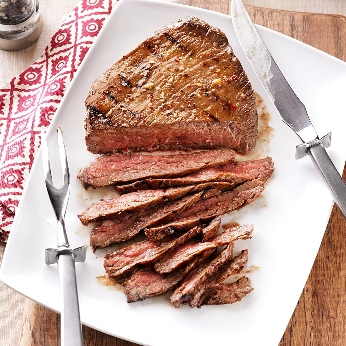 London Broil Cooking Recipe The Kitchen