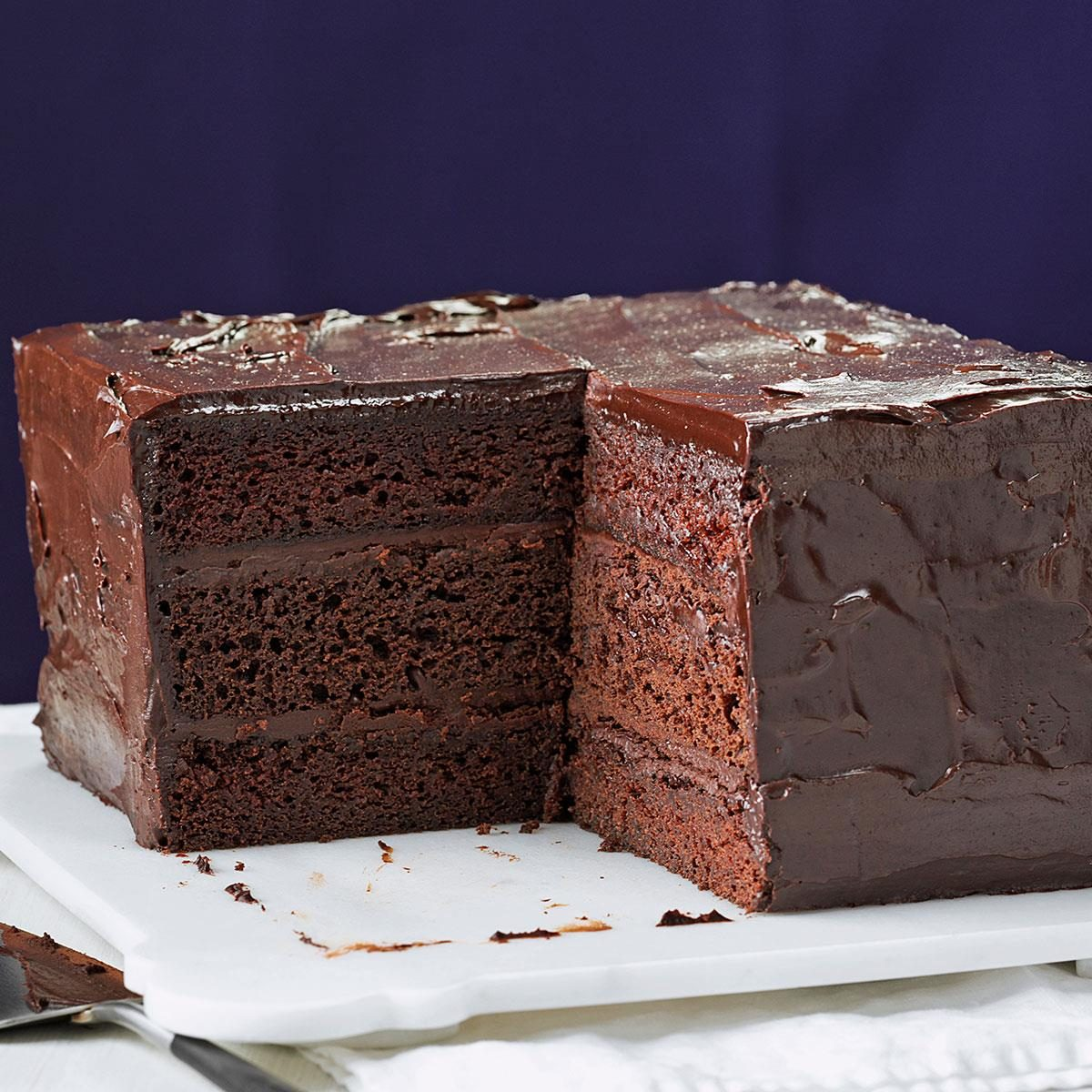 Dense Chocolate Cake Recipe From Box