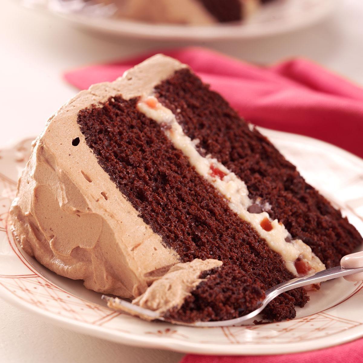 Devil S Food Cake Easy Simple