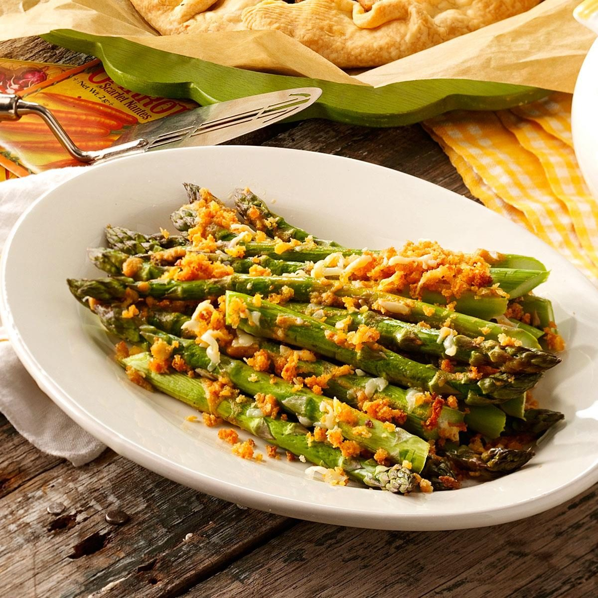 Dijon Roasted Asparagus Recipe
