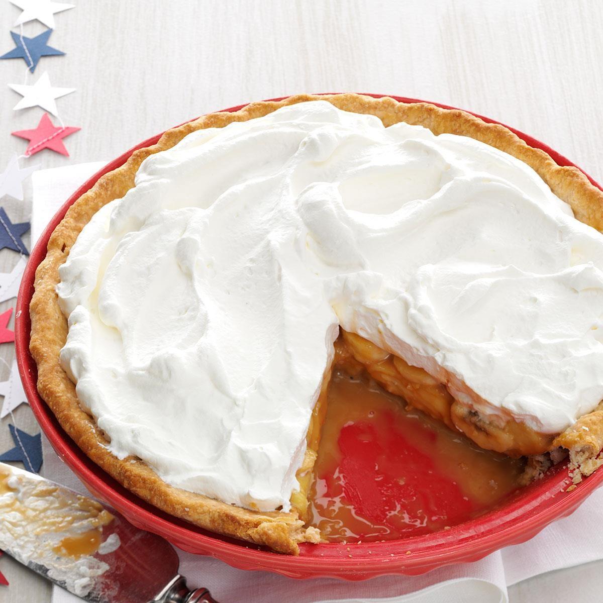 Dulce de Leche Banana Cream Pie Recipe | Taste of Home