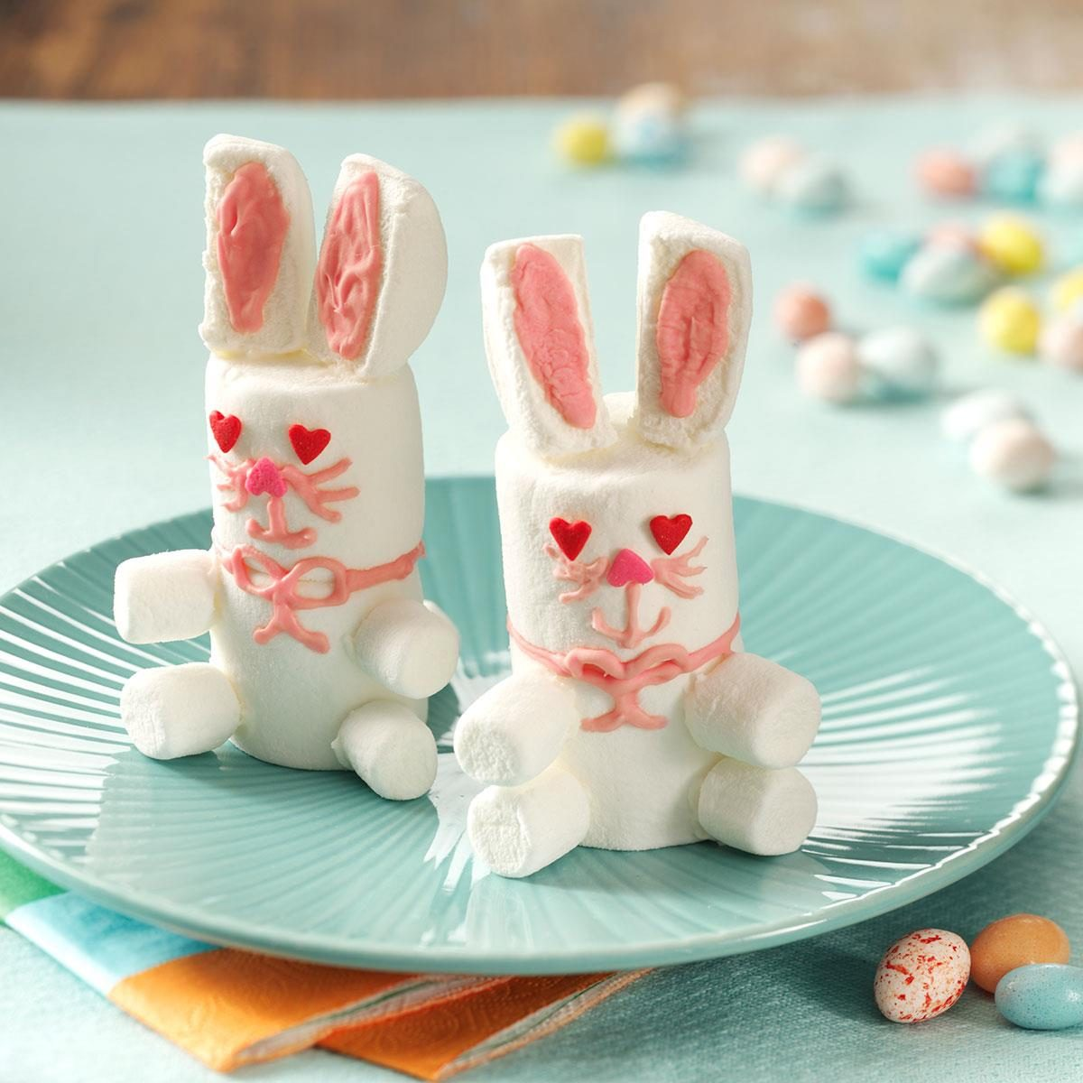 Easter bunny treats recipe taste of home for Quick and easy easter treats recipes