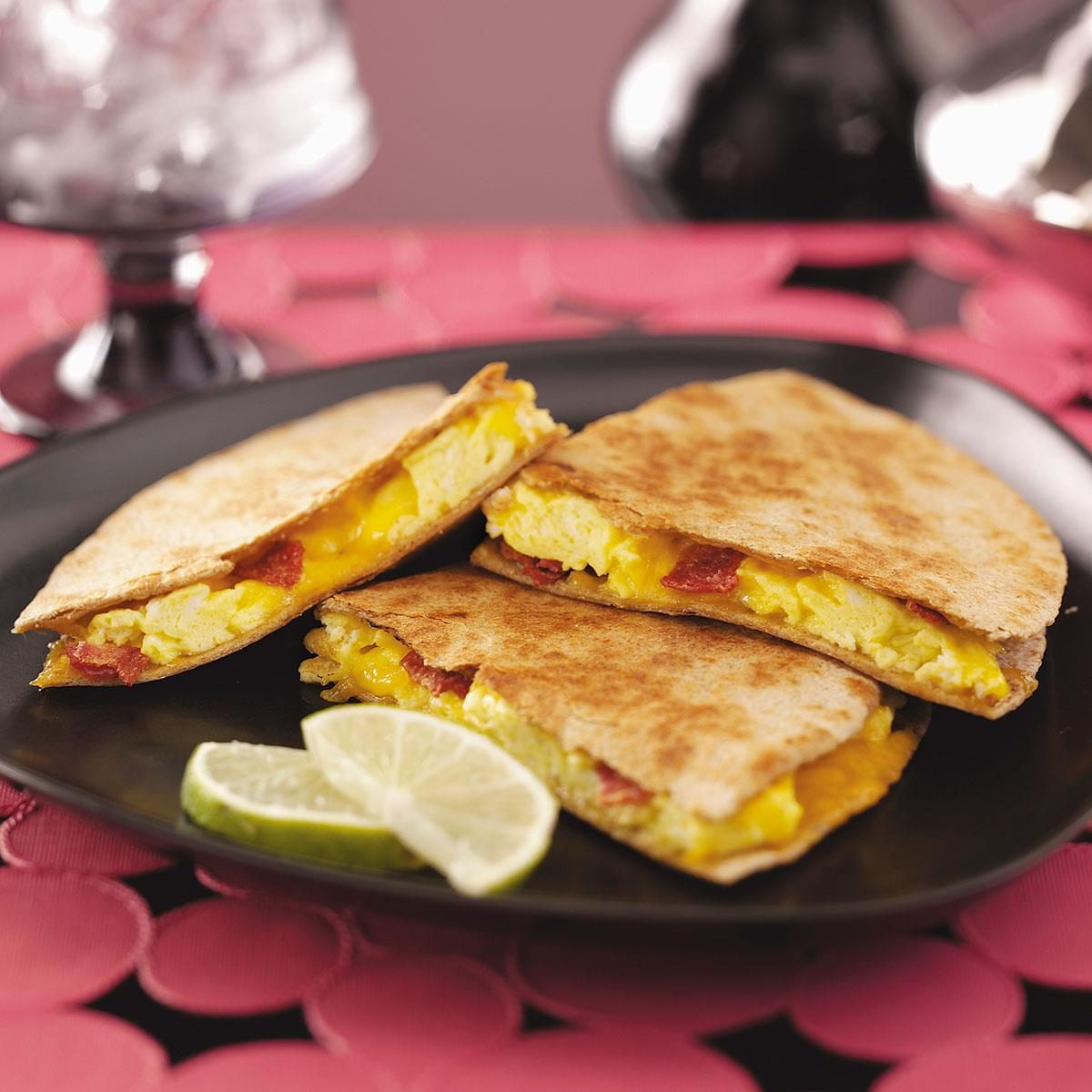 Easy Breakfast Quesadillas Recipe