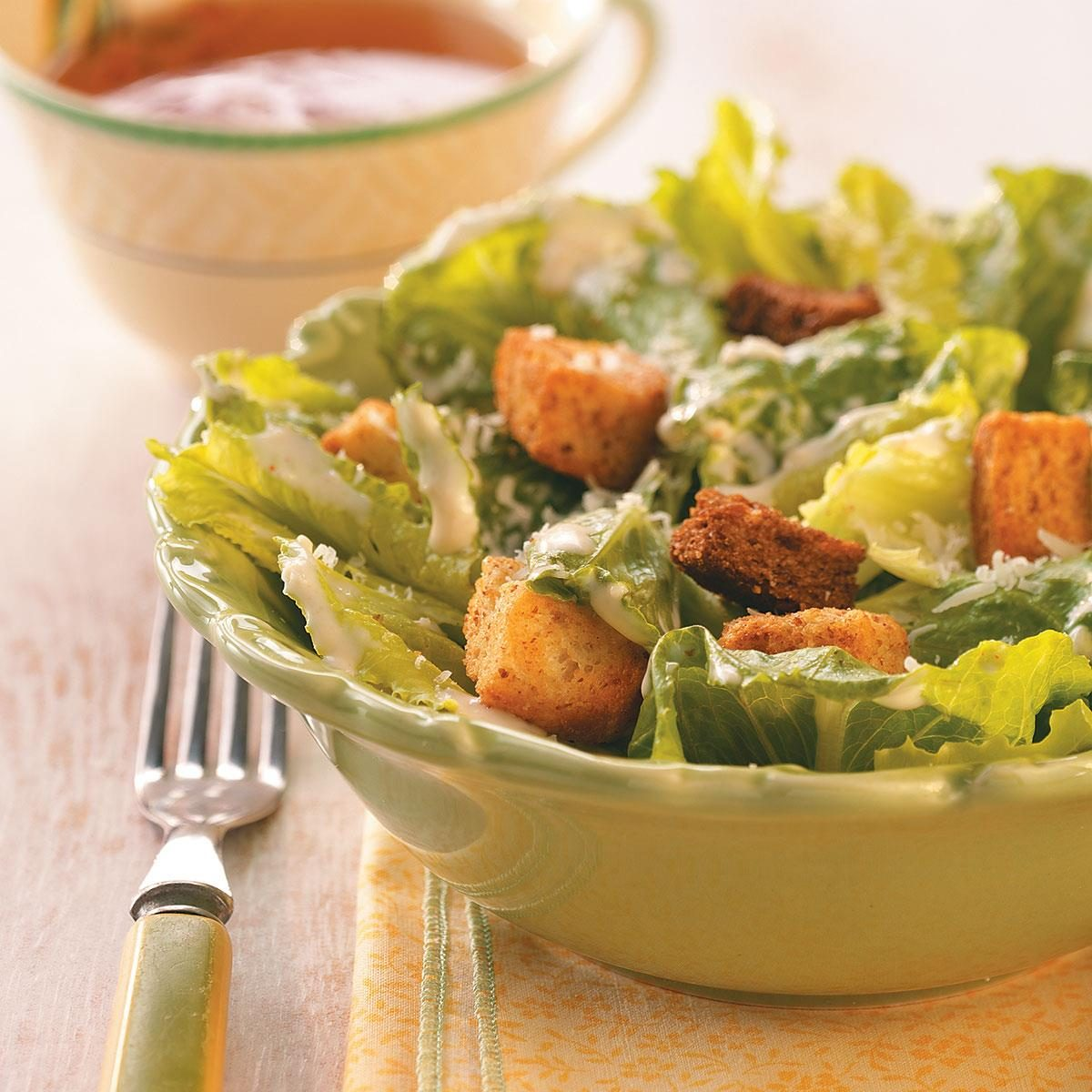 Easy Caesar Salad Recipe   Taste of Home