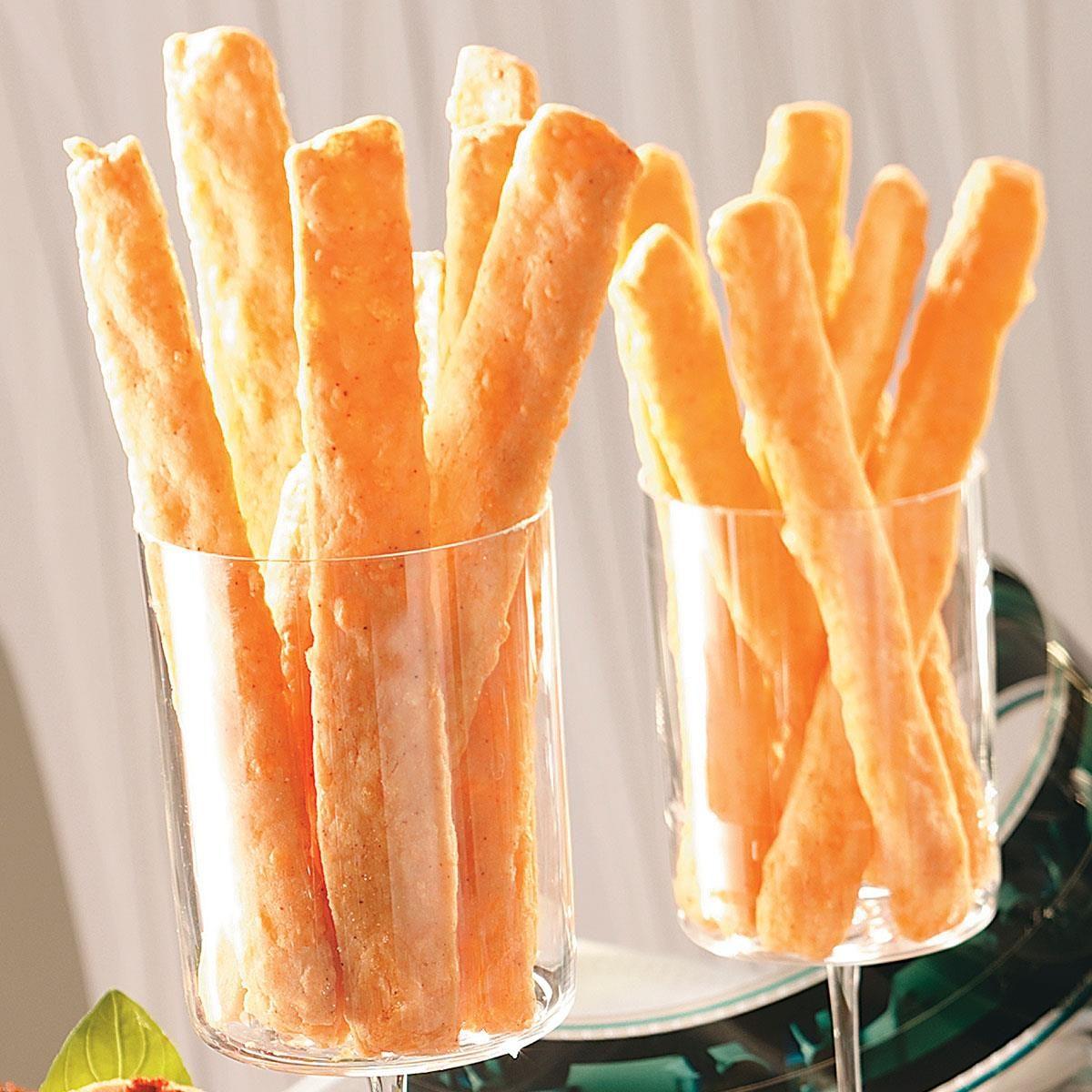 Easy Cheese Straws Recipe | Taste of Home