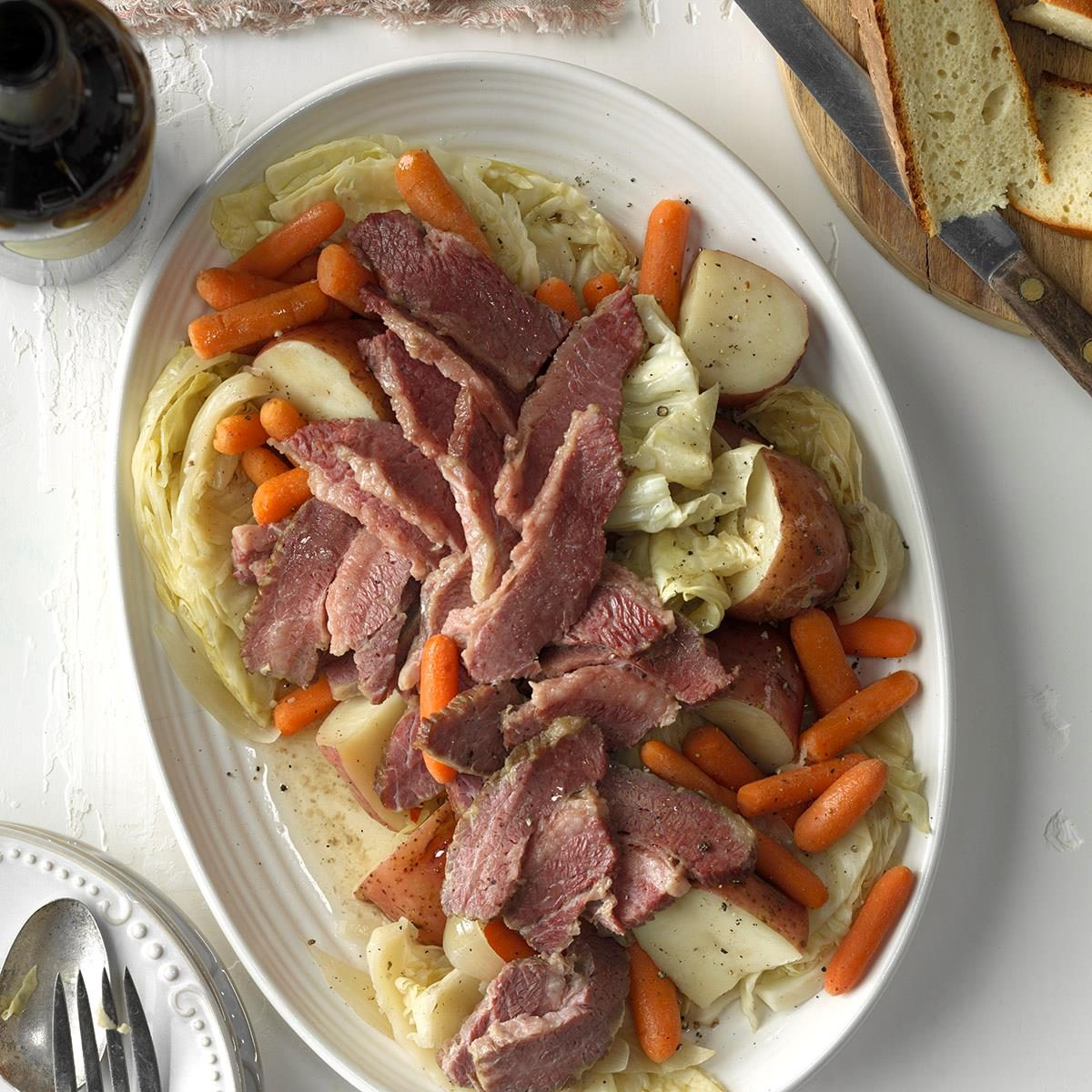 Easy Corned Beef And Cabbage Recipe Taste Of Home