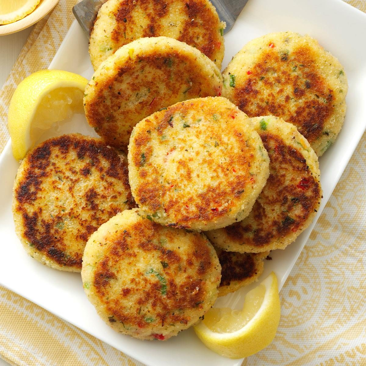Light Crab Cakes Easy Recipe