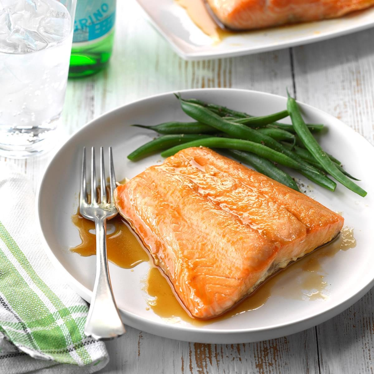 24 delicious foods to help lower your blood pressure taste of home easy glazed salmon forumfinder Choice Image