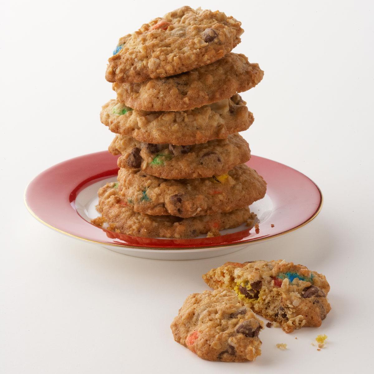 easy kitchen sink cookies recipe | taste of home