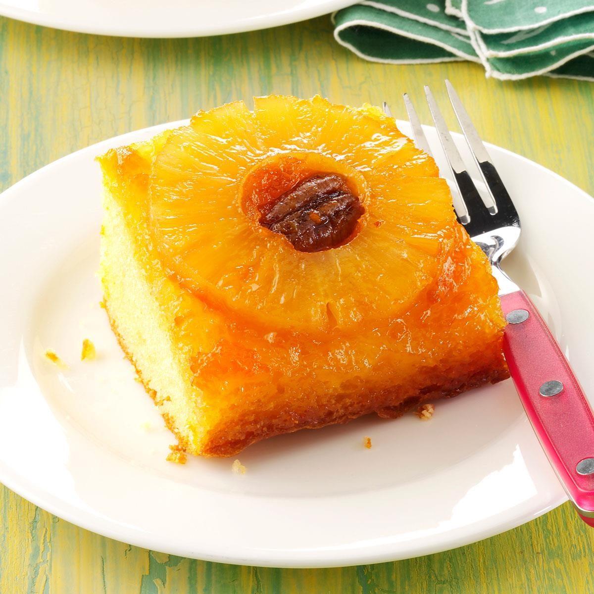 Easy Pineapple Upside Down Cake Homemade
