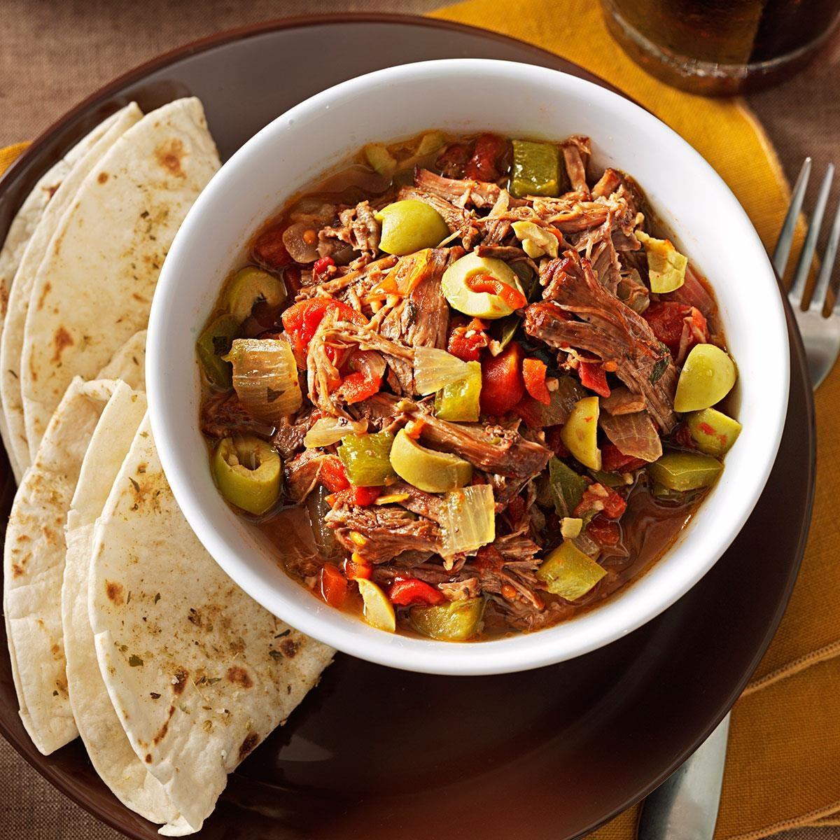 Easy Ropa Vieja Stew Recipe Taste Of Home