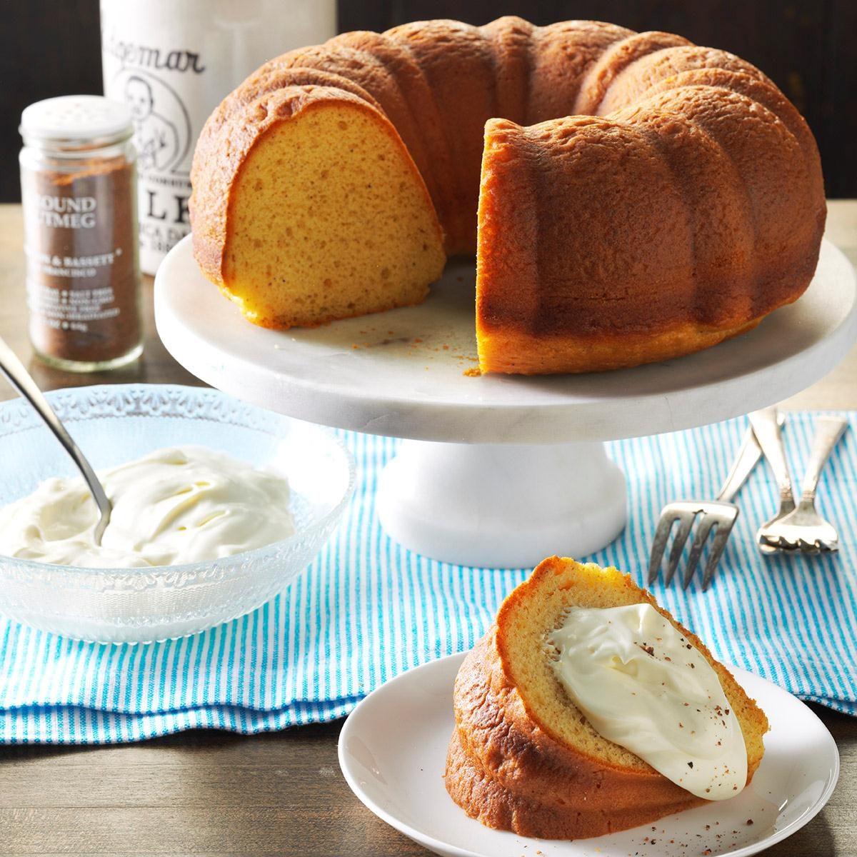 Best Eggnog Pound Cake Recipe