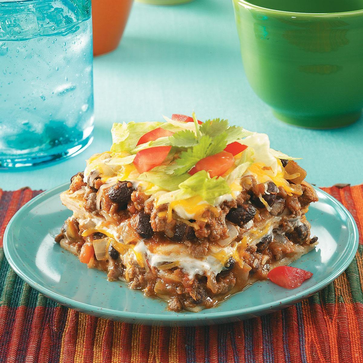 Enchilada Casser-Ole! Recipe | Taste of Home
