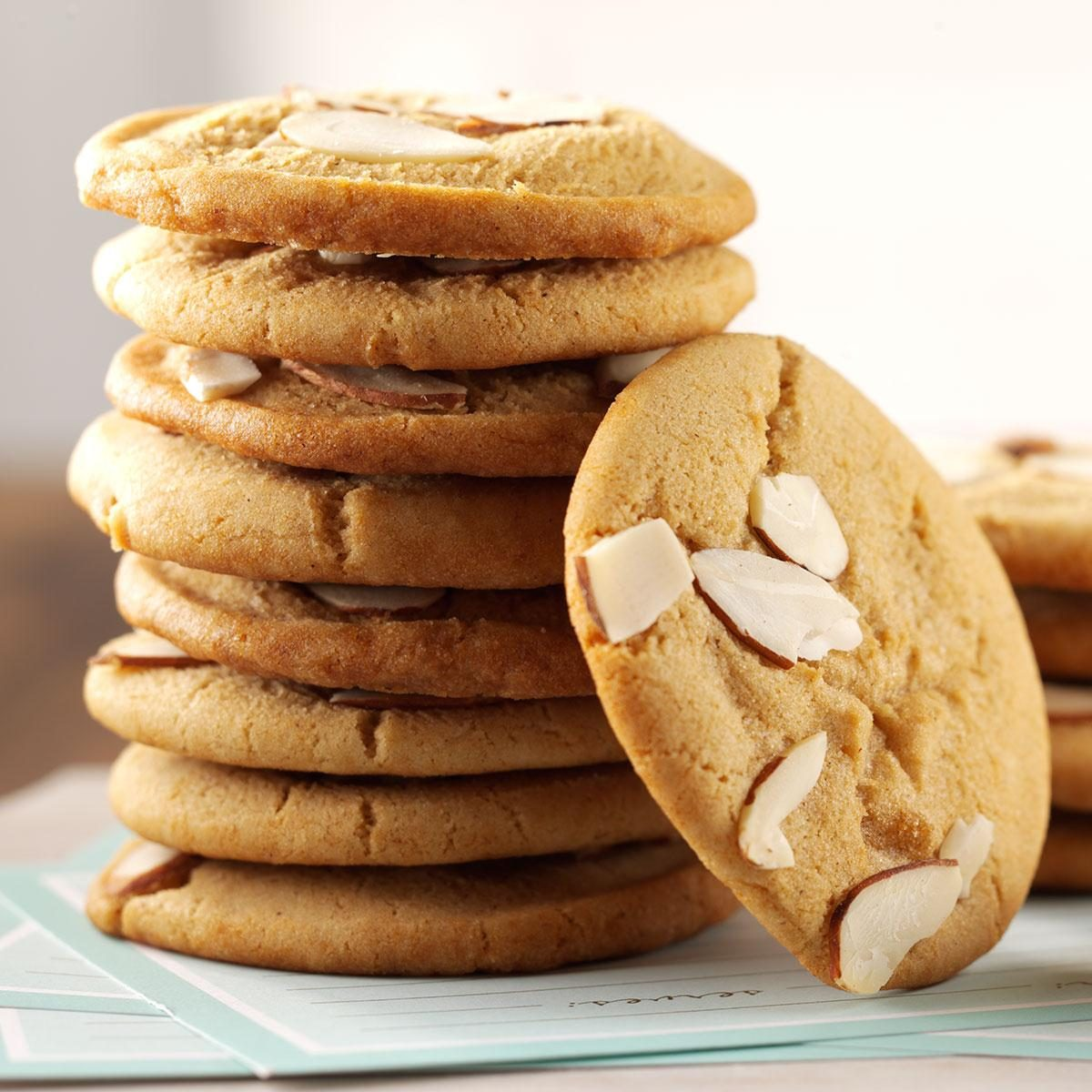 Stew Ideas Chewy Almond Cookies Recipe Taste Of Home