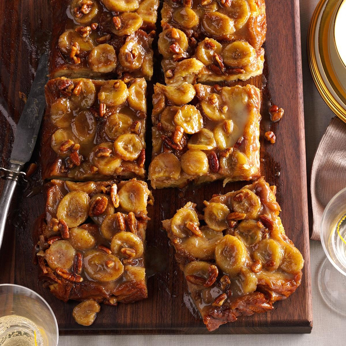 Bananas Foster Baked French Toast Recipe Taste Of Home