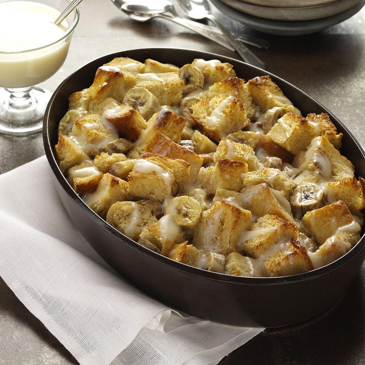 Banana Bread Pudding Recipe | Taste of Home