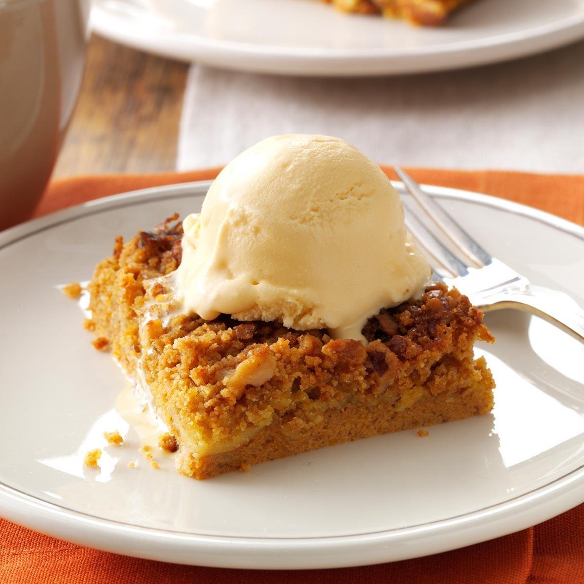 Great pumpkin dessert recipe taste of home for Quick and easy christmas dessert recipes