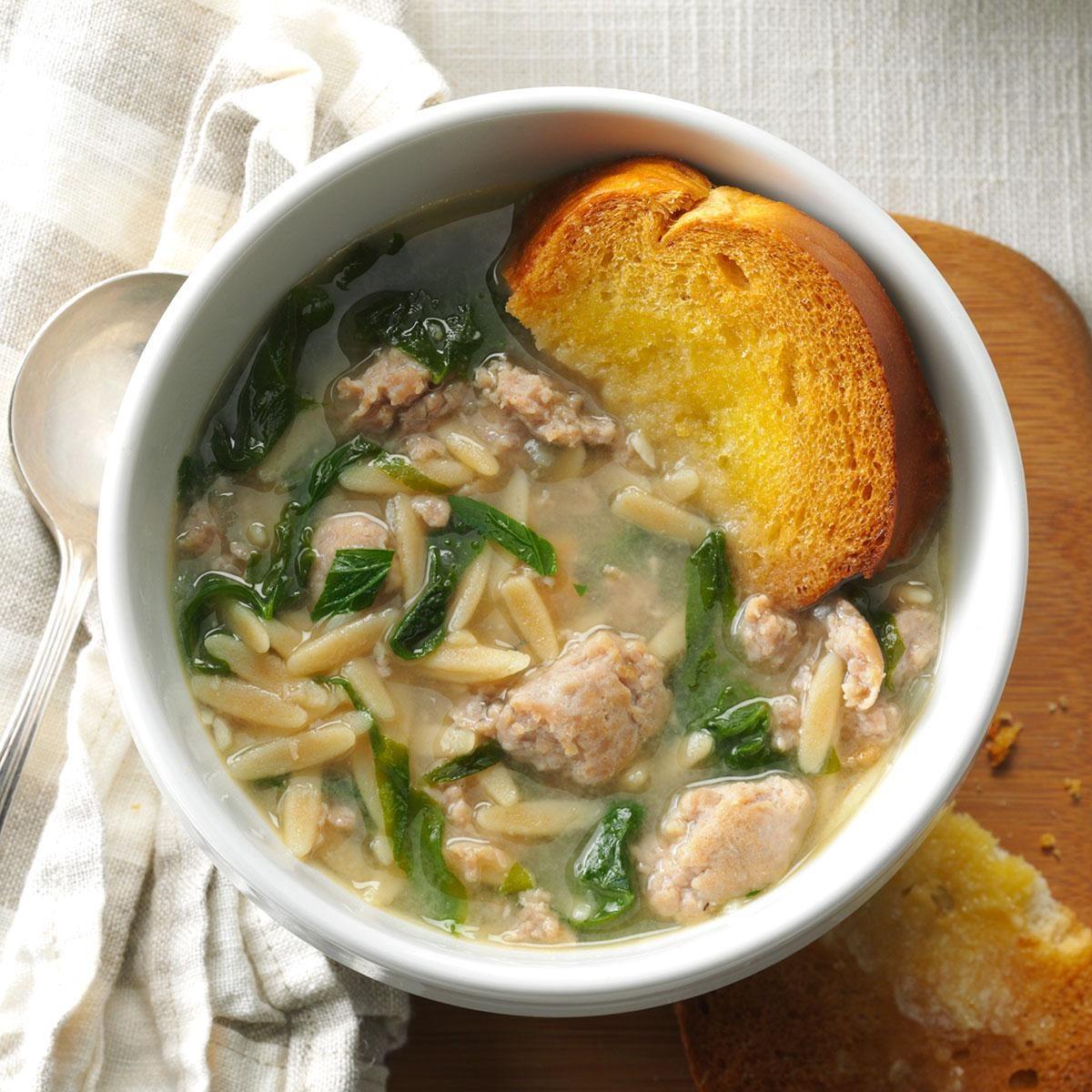 Barbaras Italian Wedding Soup Recipe