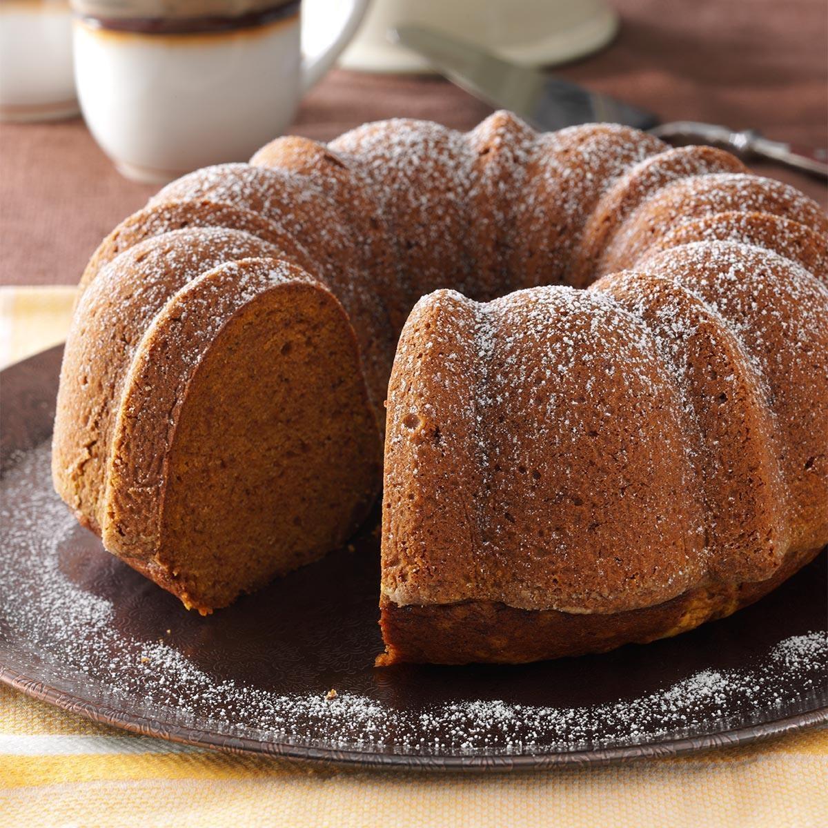 Moist Pumpkin Bundt Cake Recipe | Taste of Home