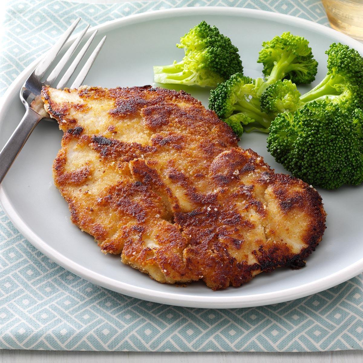 Honey-Mustard Breaded Chicken Recipe | Taste of Home