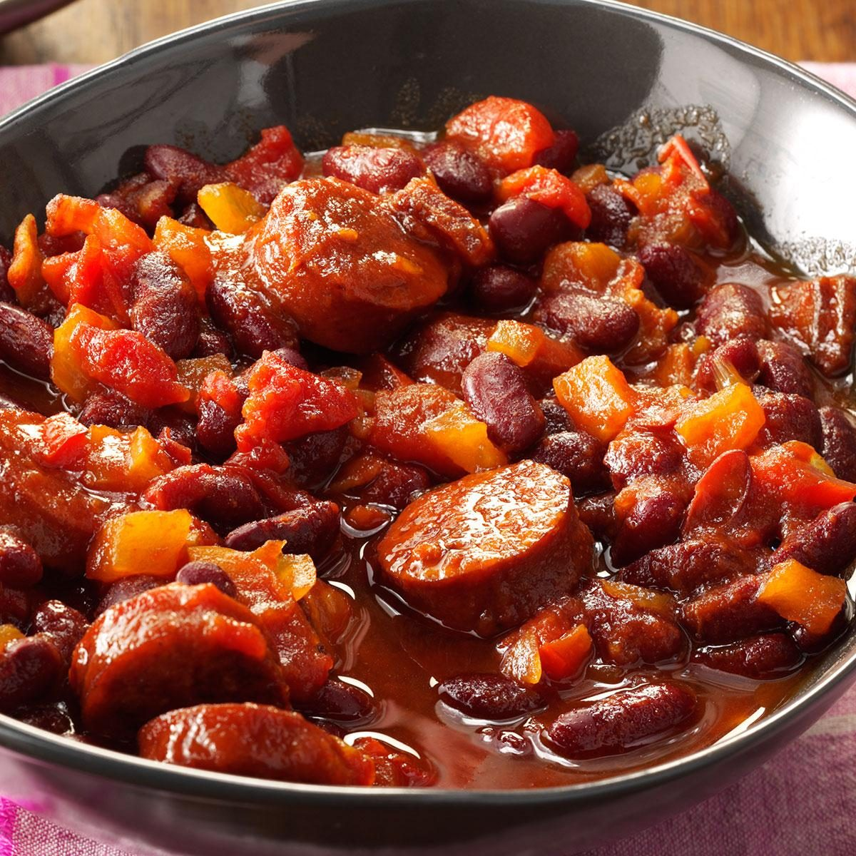 Slow-Simmered Kidney Beans Recipe | Taste of Home