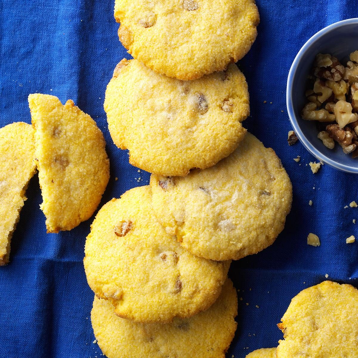 Soft Cornmeal Cookies Recipe | Taste of Home