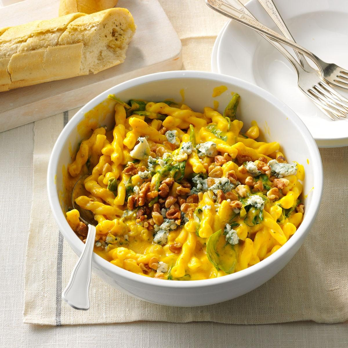 Winter Squash & Blue Cheese Pasta Recipe