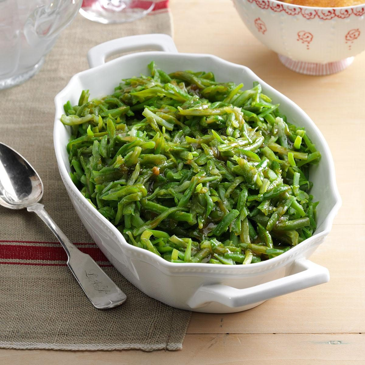 Slow-Cooked Green Beans Recipe