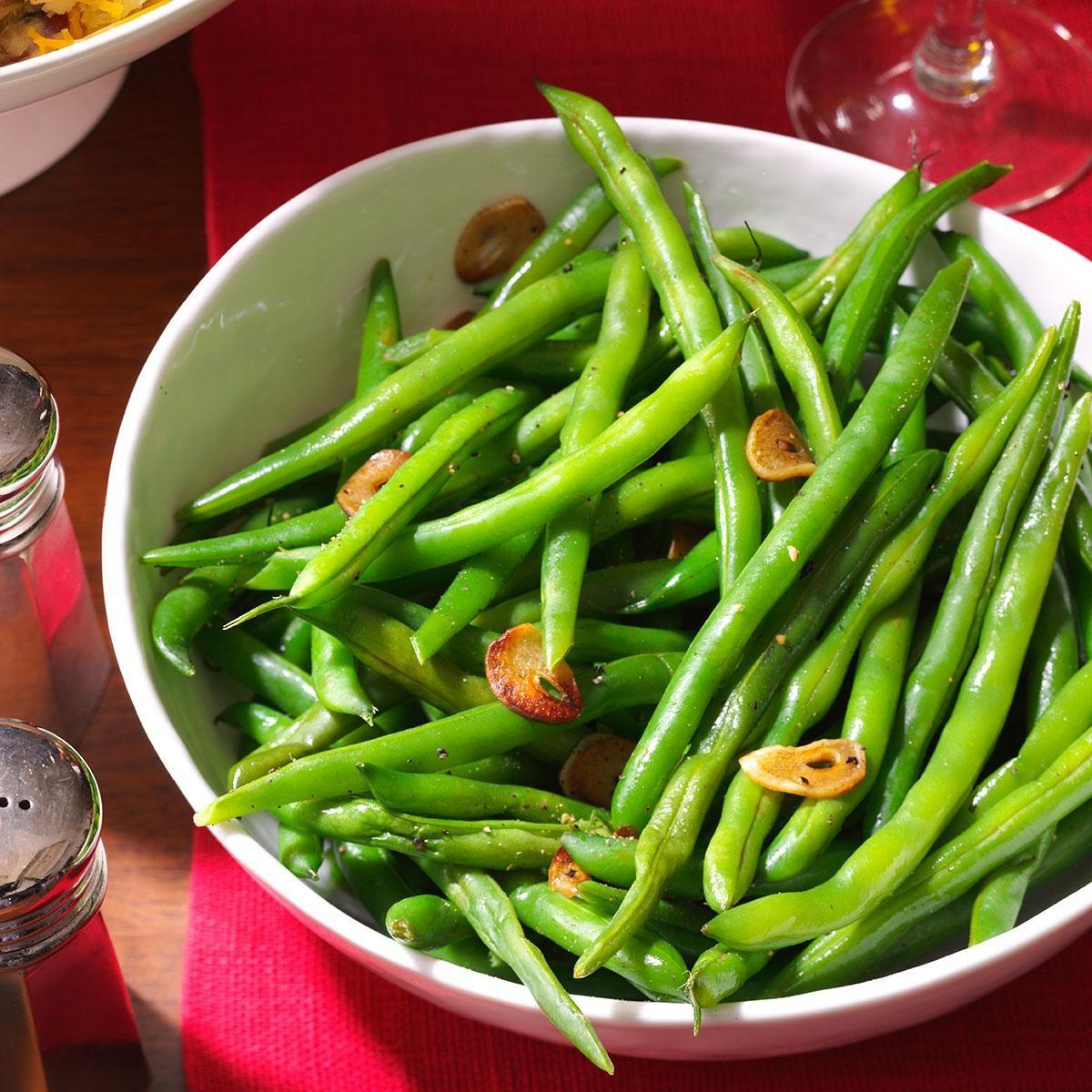 Fresh Green Beans & Garlic Recipe
