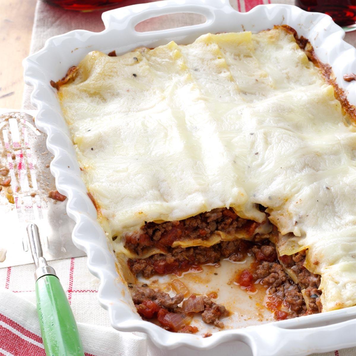 Bechamel Lasagne