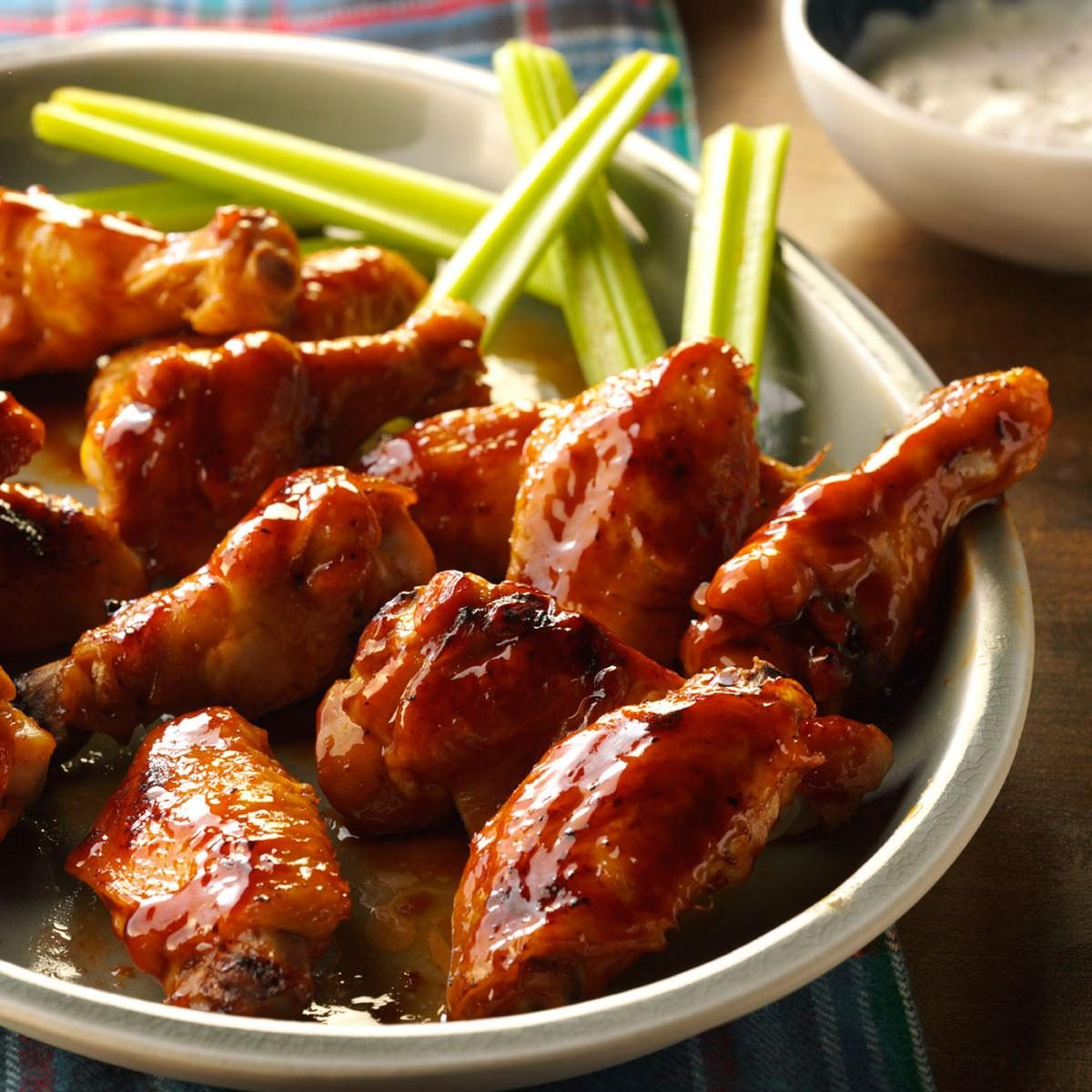 Glazed Chicken Wings Recipe | Taste of Home