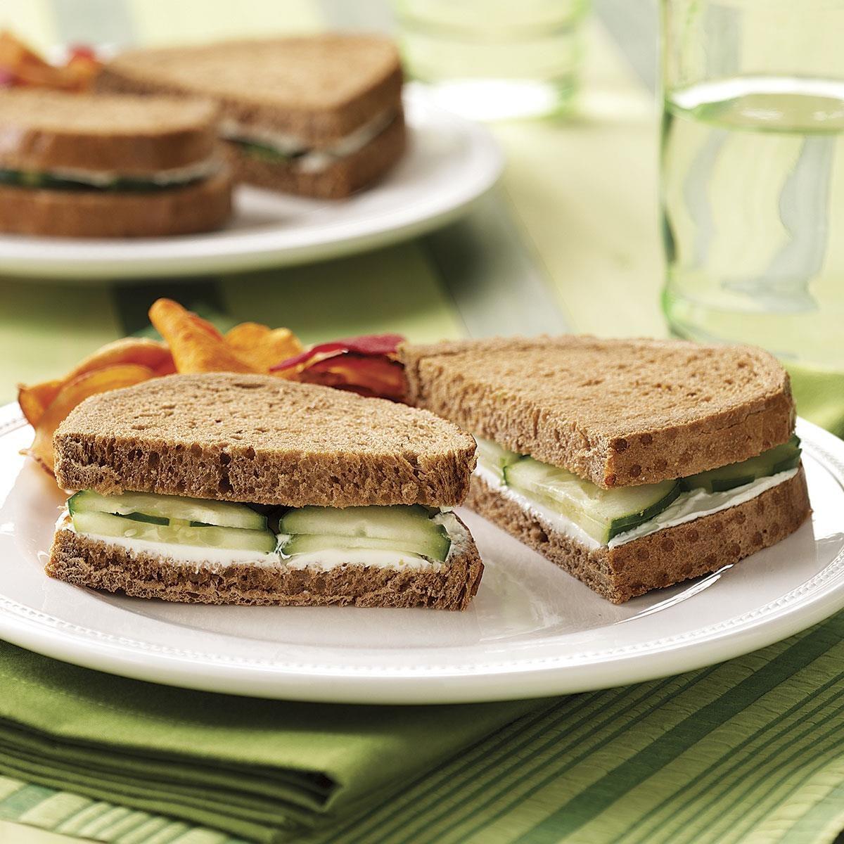Cucumber Sandwiches Recipe | Taste of Home