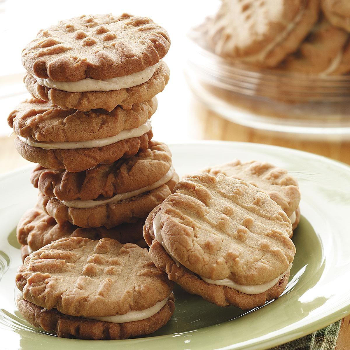 Peanut Butter Sandwich Cookies Recipe | Taste of Home