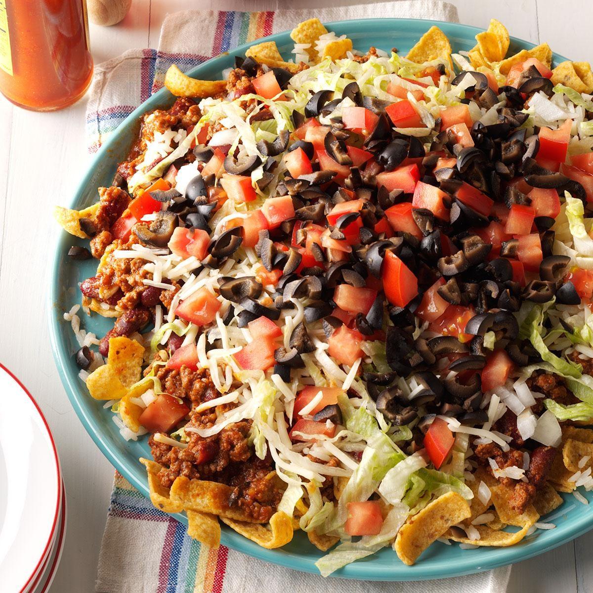 Mexican Fiesta Platter Recipe Taste Of Home