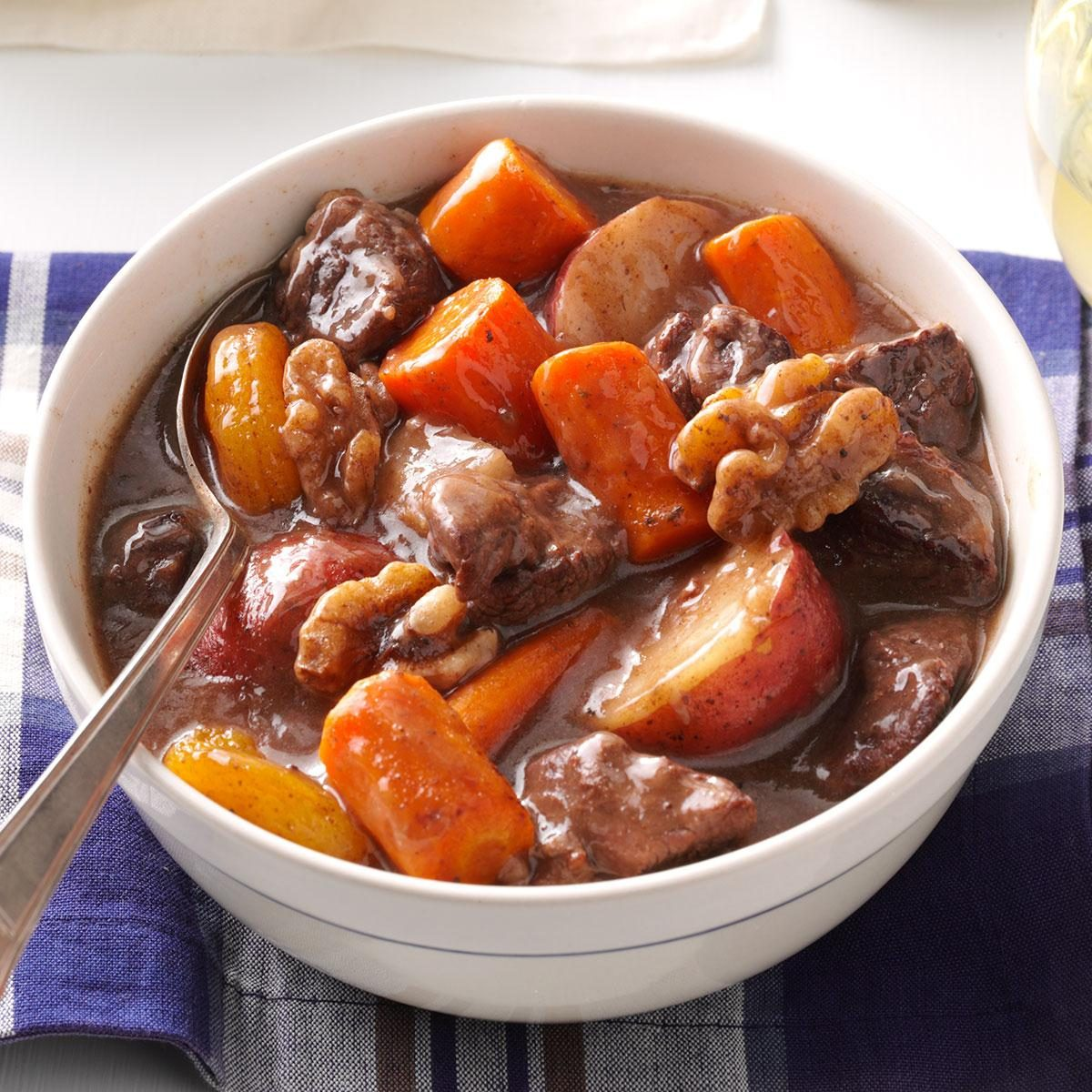 Autumn Slow Cooked Beef Stew Recipe Taste Of Home