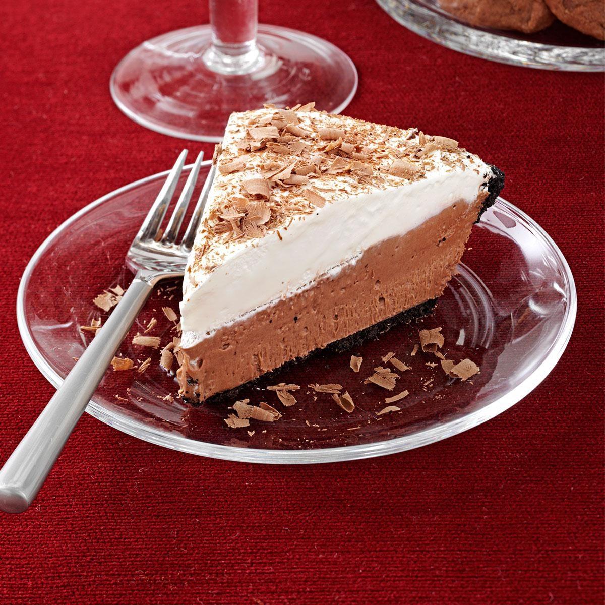 Chocolate Lover's Cream Pie Recipe | Taste of Home