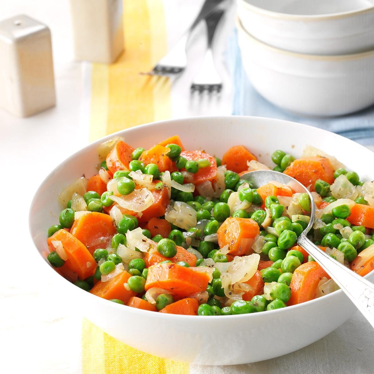 honey butter peas and carrots recipe taste of home