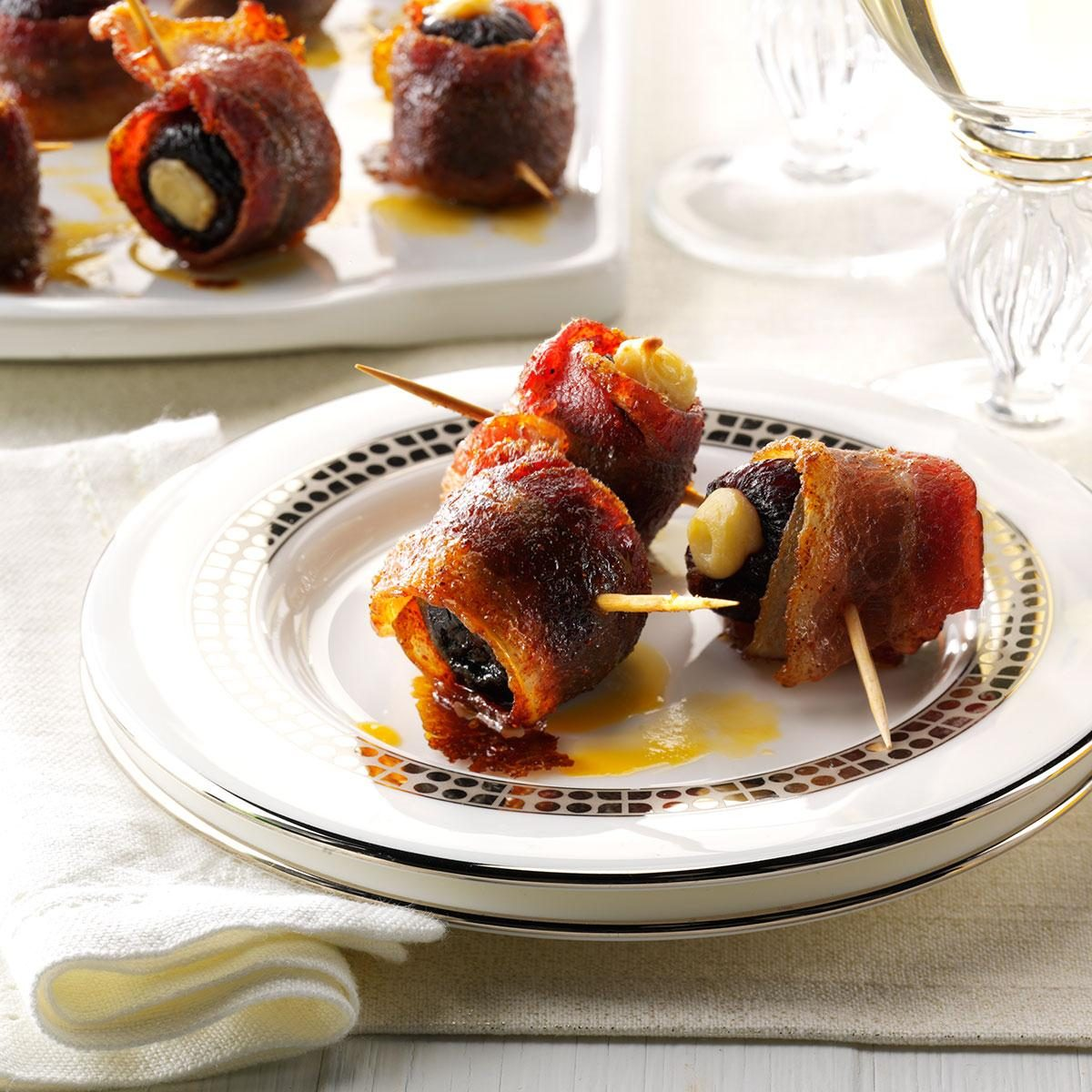 Candied Bacon-Wrapped Figs Recipe