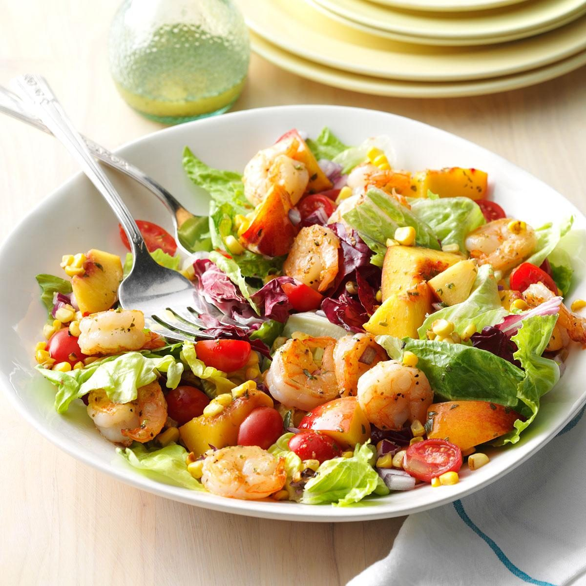 Shrimp Nectarine Salad Recipe