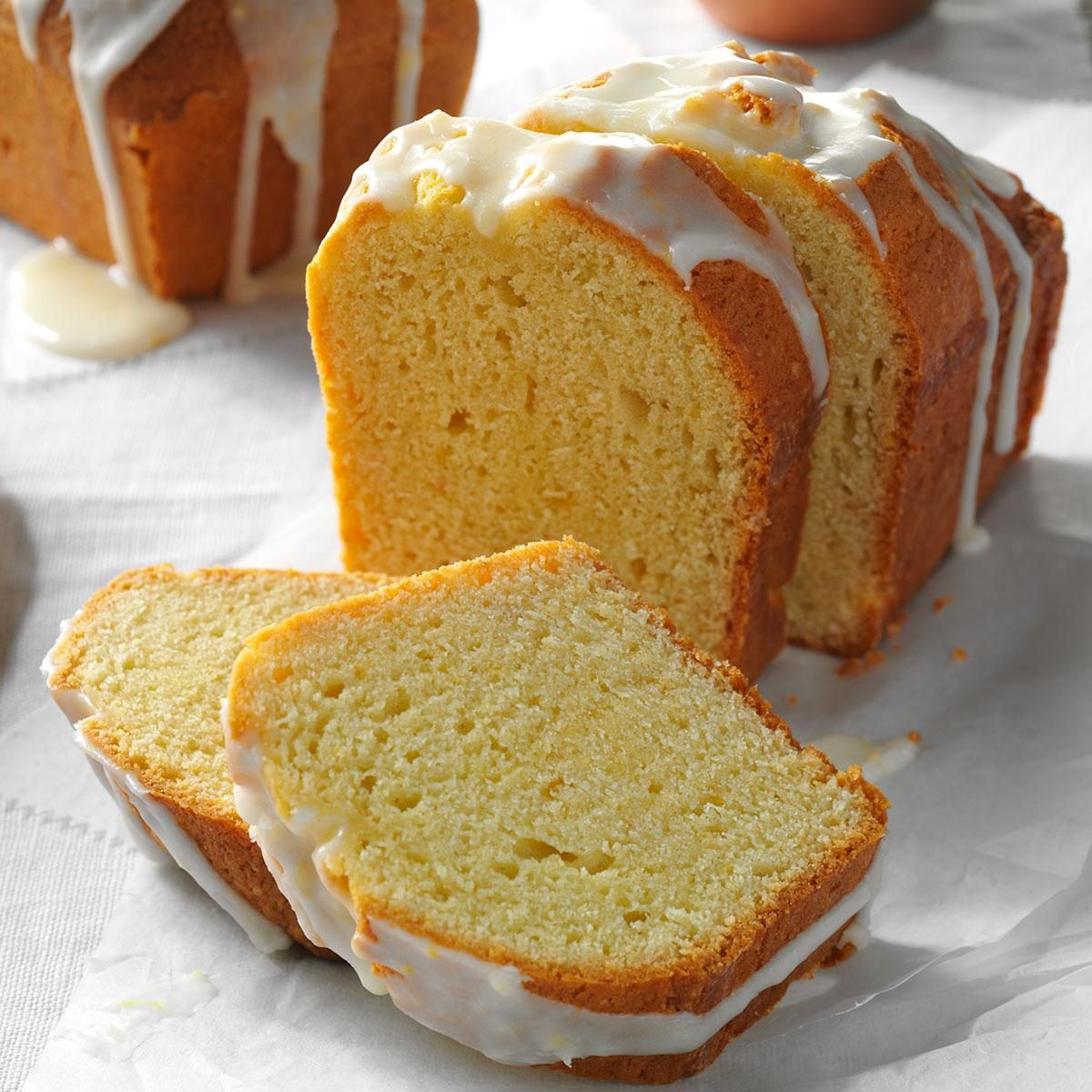 Mini Lemon Pound Cake