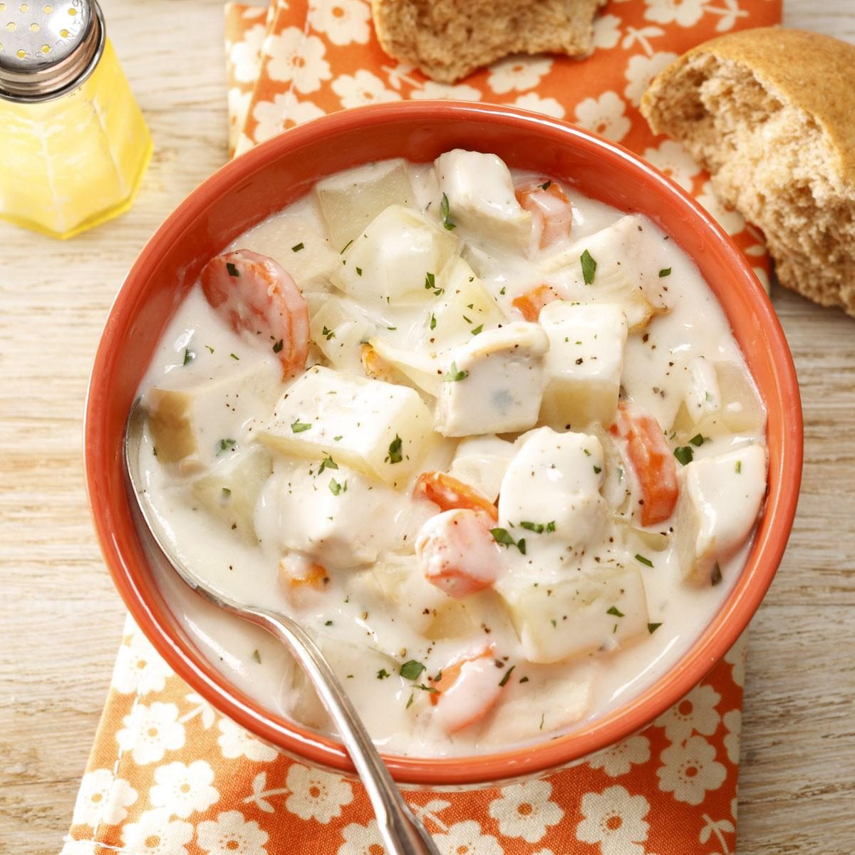 Cream Cheese Chicken Soup Recipe