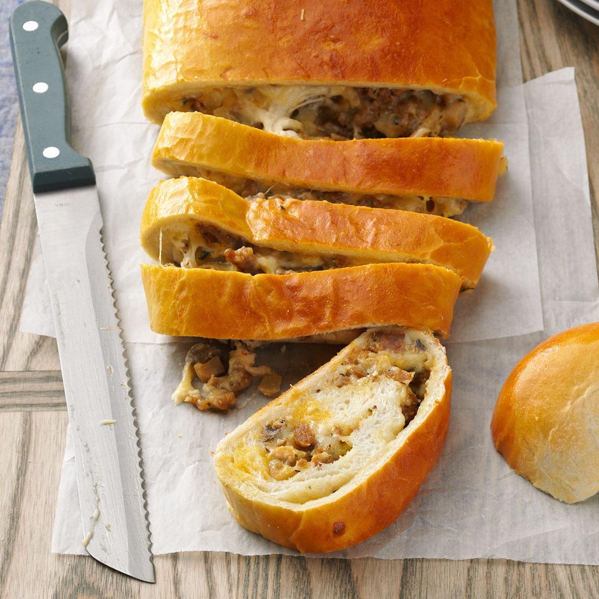 Breakfast Sausage Bread Recipe