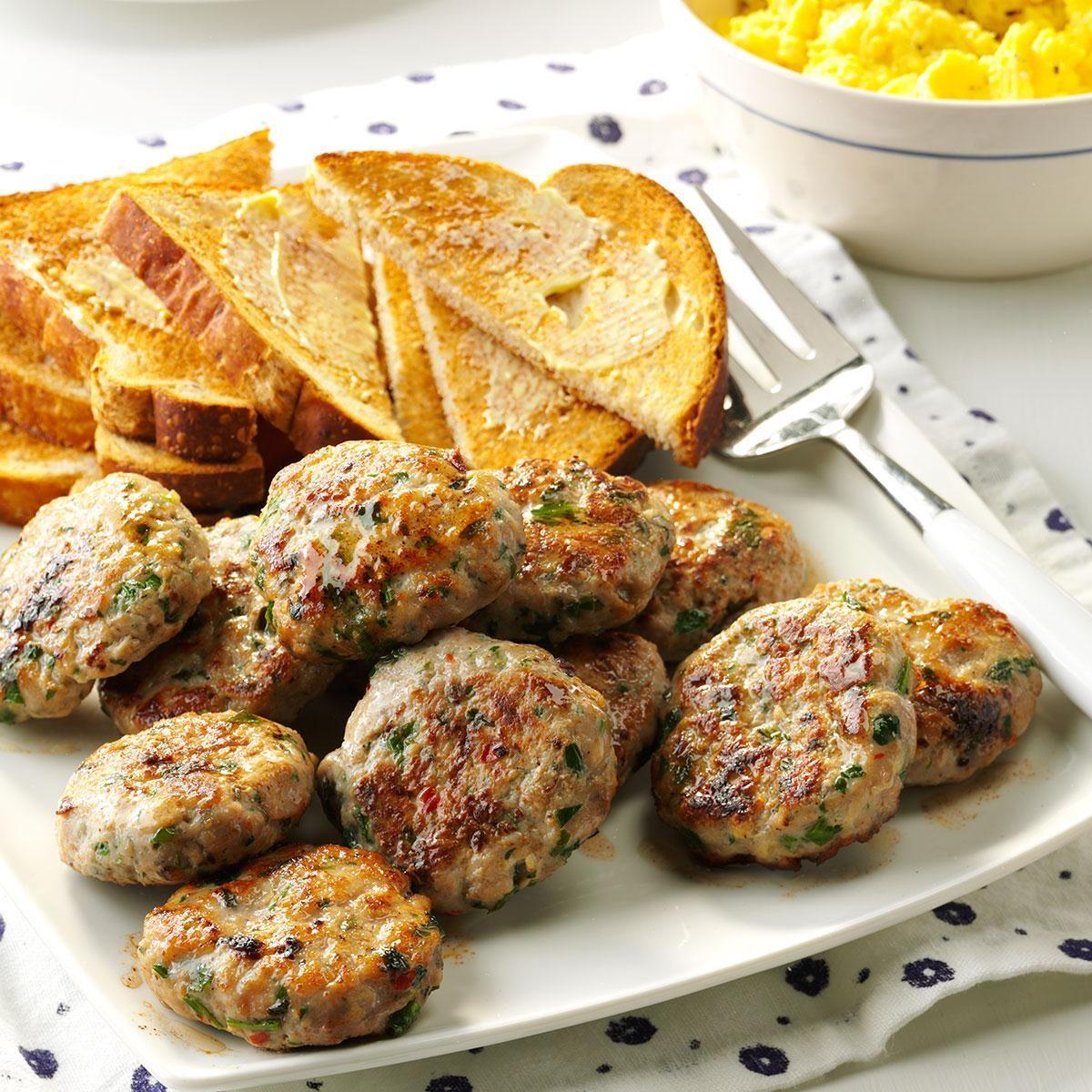 Apple-Sage Sausage Patties Recipe   Taste of Home