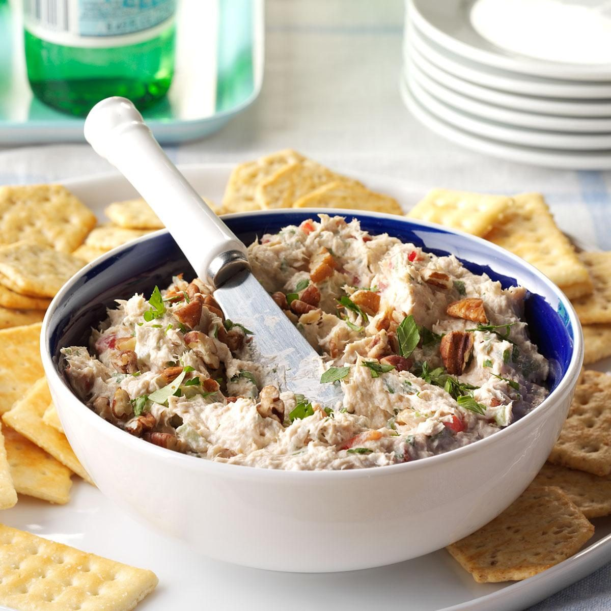 Get Recipe Salmon Party Spread