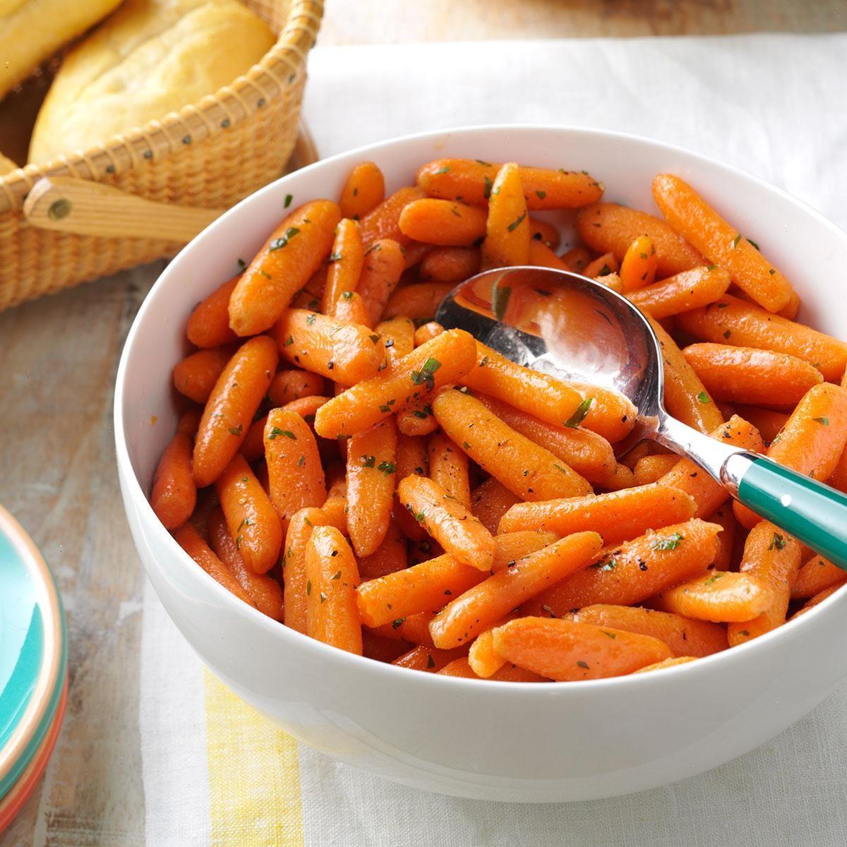 Brandy-Glazed Carrots Recipe | Taste of Home