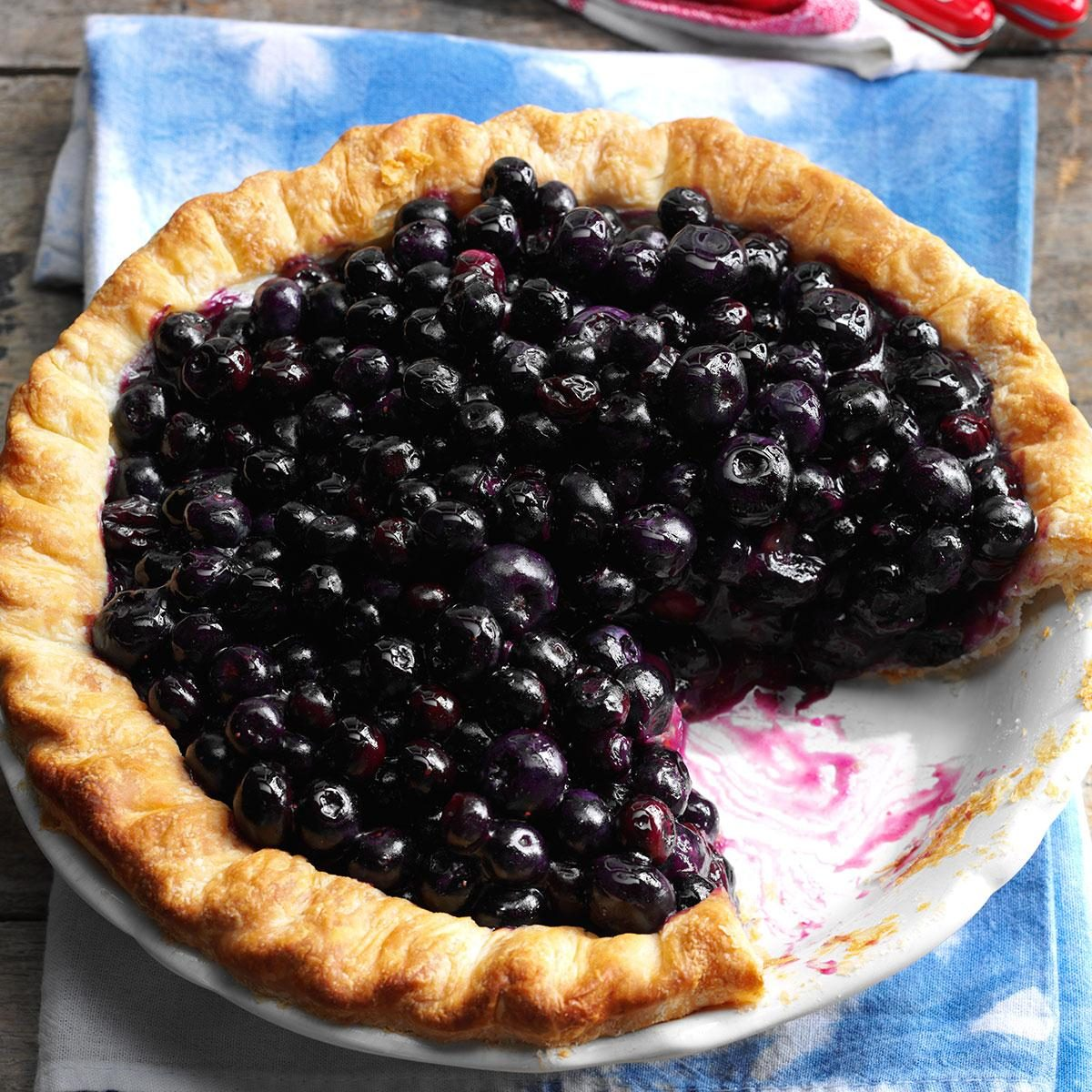Cape Cod Blueberry Pie Recipe | Taste of Home